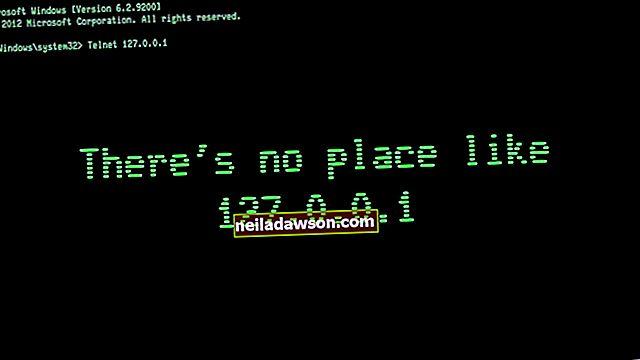 Jak používat CMD k nalezení IP