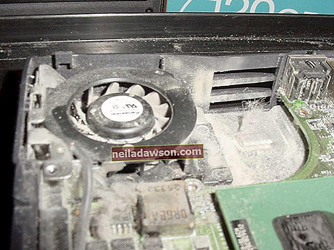 Πώς να καθαρίσετε έναν ανεμιστήρα φορητού υπολογιστή χωρίς πεπιεσμένο αέρα
