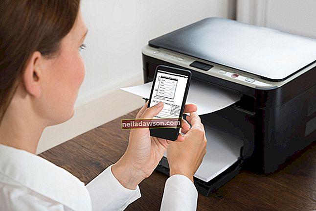 Přidání tiskárny k iPhone