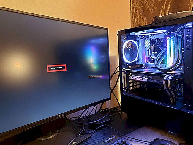 Jak opravit signál bez vstupu do počítače