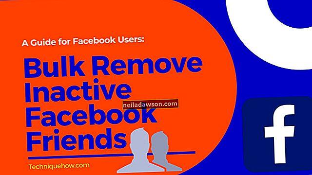 Jak hromadně nebo hromadně odebrat přátele z Facebooku