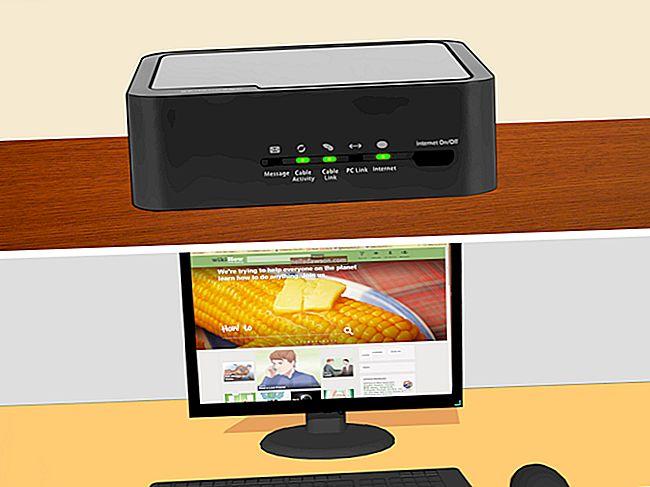 Τρόπος σύνδεσης σε ένα μόντεμ Comcast