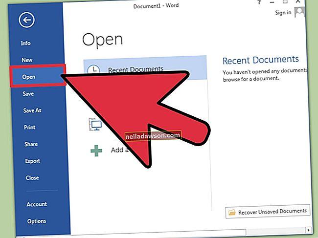 Hogyan nyitható meg egy ODT fájl MS Word-ben