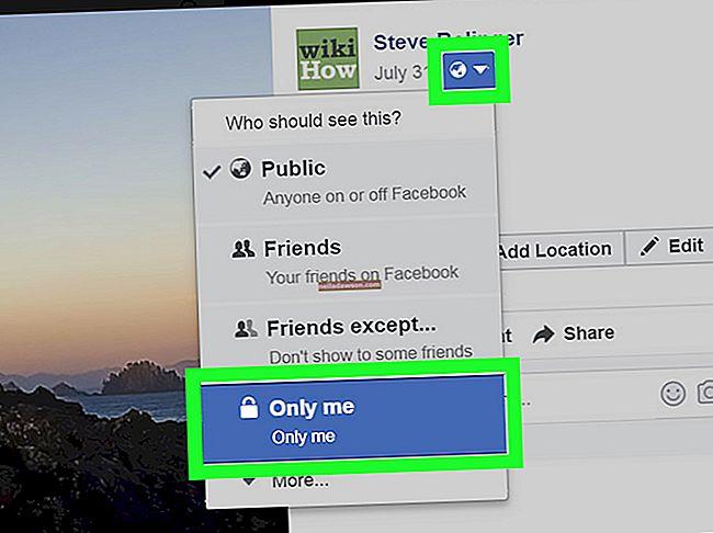 Hogyan lehet elrejteni egy képet a Facebookon