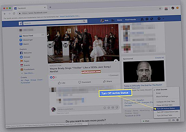 Hogyan rejthetem el magam a felhasználók előtt a Facebookon
