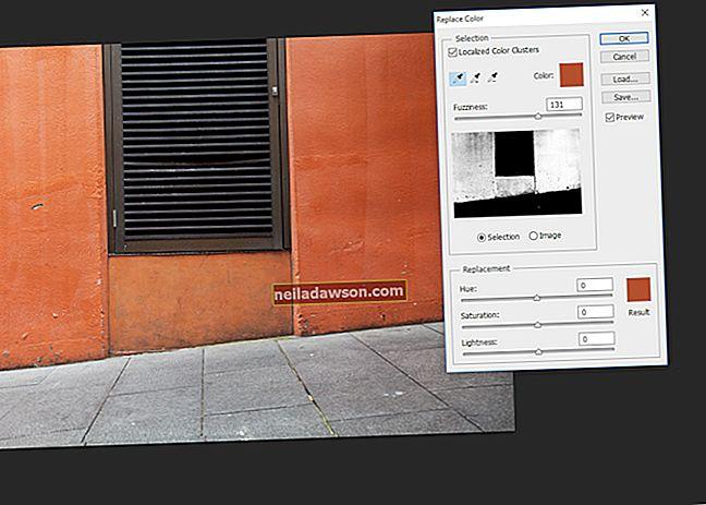 Sådan udskiftes farver med gennemsigtige i GIMP
