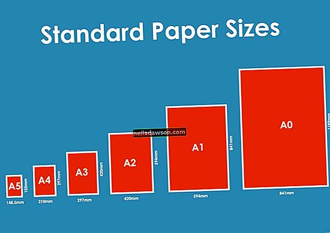 Normál nyomtató papírméretek