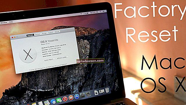 Kā restartēt Apple iMac rūpnīcas iestatījumos