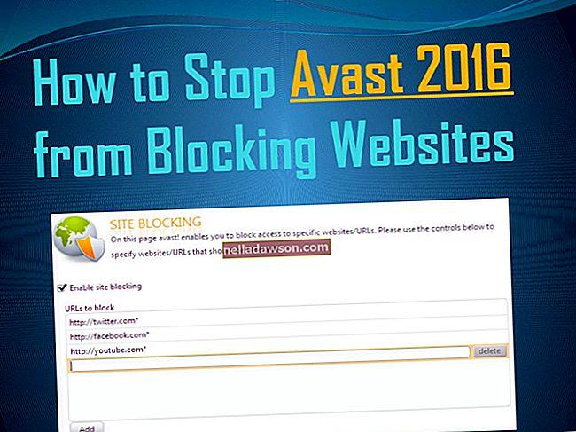 Hogyan lehet megakadályozni, hogy ne blokkolja a weboldalakat