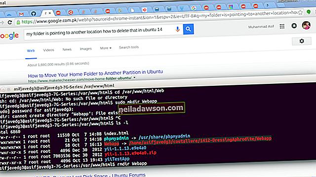 Mappák automatikus törlése az Ubuntuban